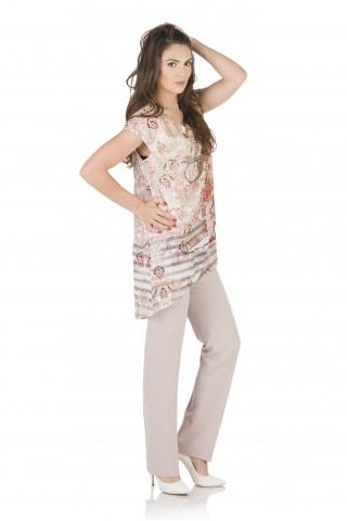 Класически панталон от лен