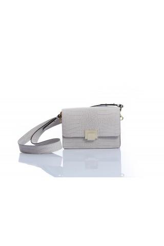 Малка чанта с дълга дръжка и щампа с животински мотиви